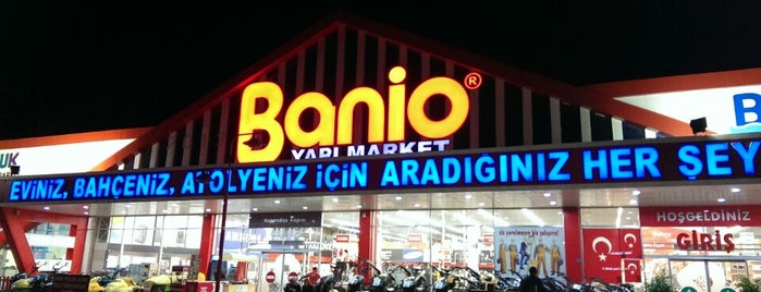 Banio Yapı Market is one of Lugares favoritos de Haydar.