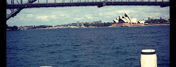 McMahons Point Ferry Wharf is one of Sydney.