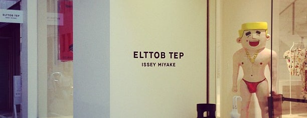 ELTTOB TEP ISSEY MIYAKE / GINZA is one of Tokyo shopping.