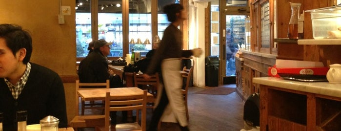Le Pain Quotidien is one of NYC dine out..