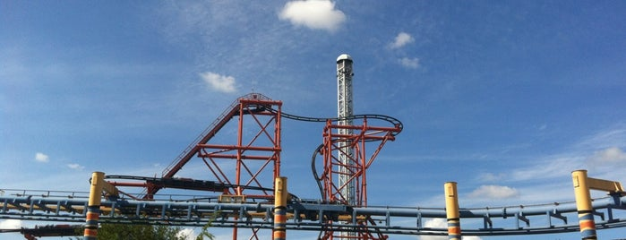 Mumbo Jumbo is one of Stevenson's Favorite Roller Coasters.