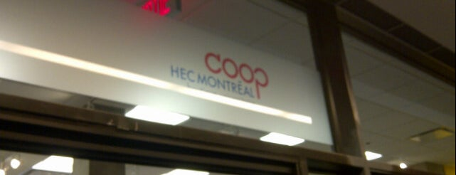 Coop HEC Montréal is one of Montreal.