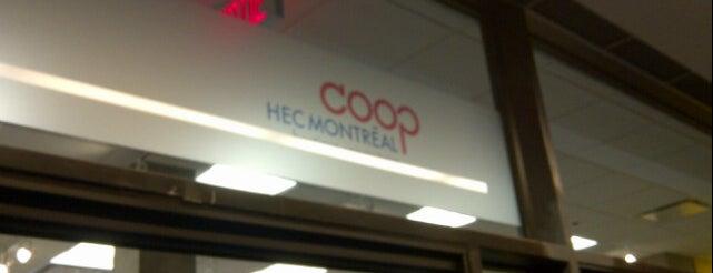 Coop HEC Montréal is one of Posti salvati di Julye.