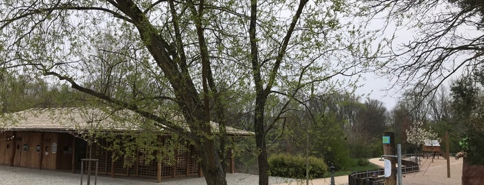 Park na špici is one of Pardubice.