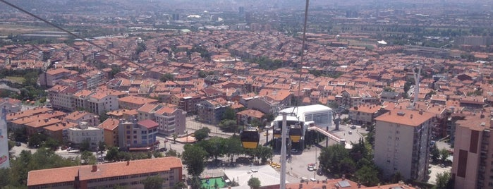 Yenimahalle Teleferik İstasyonu (T1) is one of Locais curtidos por Fatih.