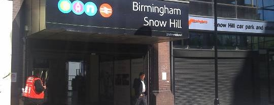 Birmingham Snow Hill Railway Station (BSW) is one of United Kingdom, UK.