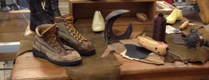 Danner Factory Store is one of PDX.