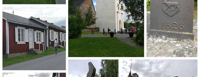 Gammelstads Kyrkby is one of Orte, die Hanna Victoria gefallen.