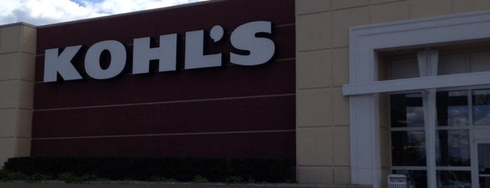 Kohl's is one of J's Liked Places.