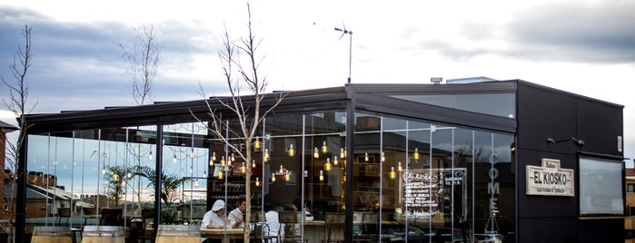 El Kiosko Gastrobar, Las Rozas is one of Rotulados por rotulacionamano.com.