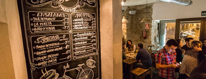 La Bicicleta Café is one of ¡Mmmmmadrid!.