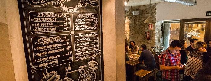 La Bicicleta Café is one of Rotulados por rotulacionamano.com.