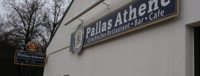 Restaurant Pallas Athene is one of Tempat yang Disukai Rob.