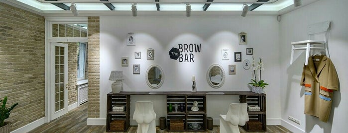 The Brow Bar is one of Lugares favoritos de Lucy🔥.