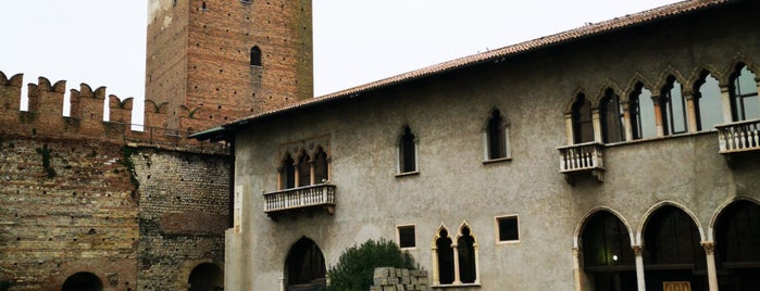 Castelvecchio is one of Veneto best places.