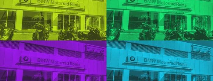 BMW Motorrad Roma is one of Posti che sono piaciuti a Max.