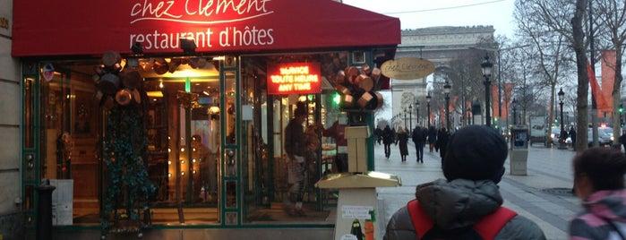 Chez Clément is one of สถานที่ที่ Bulent ถูกใจ.