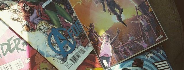 I Want More Comics is one of Tempat yang Disimpan Mark.