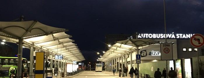 Náhradná autobusová stanica Nivy is one of Bratislava.