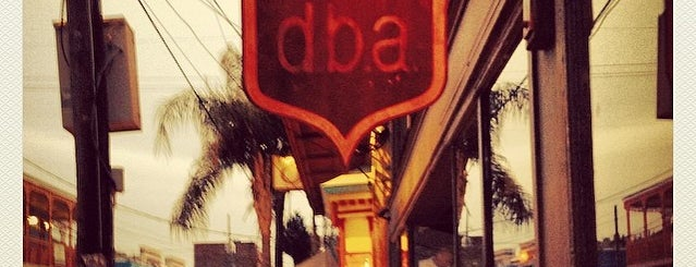 d.b.a. is one of Eat. Play. Live..