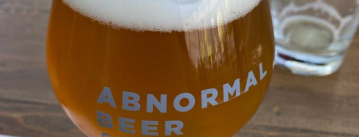 Abnormal Beer Company is one of San Diego.
