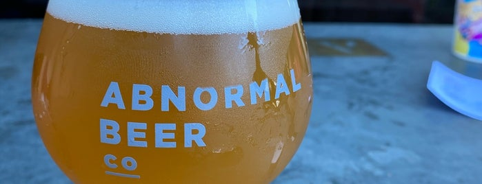Abnormal Beer Company is one of Breweries To Visit.