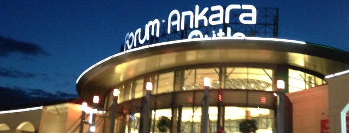 Forum Ankara Outlet is one of AVM.