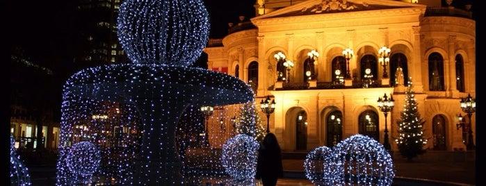 Alte Oper is one of Frankfurt.