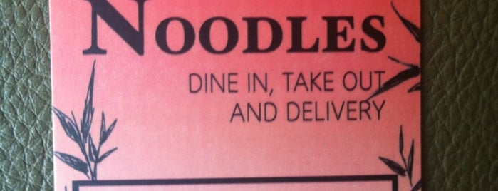 86 Noodles is one of Oh! The Places You'll Go.