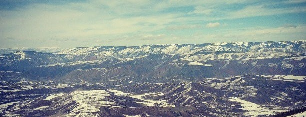 Snowmass Mountain is one of Ski resorts I've been to..
