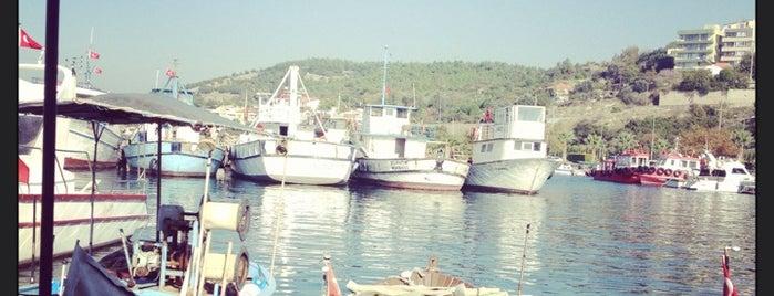Aliağa Marina is one of Tempat yang Disukai Ahmet.