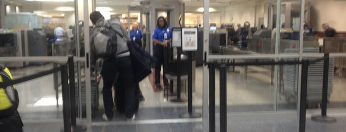 TSA Security Check Point is one of Airports.