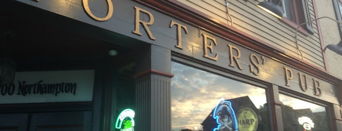 Porters' Pub & Restaurant is one of 10 Best Food Spots in the Lehigh Valley.