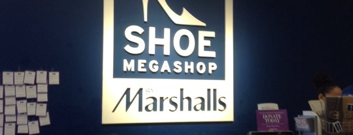 Shoe Megashop by Marshalls is one of Locais salvos de Sam.