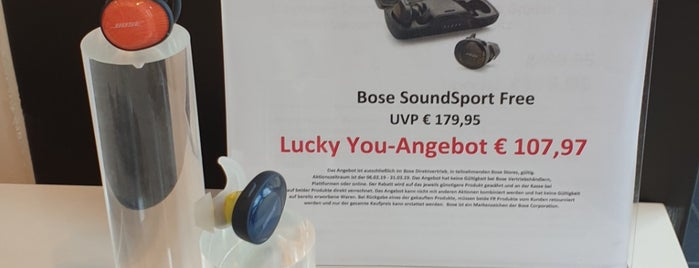 Bose Store Düsseldorf is one of (Announced closure).