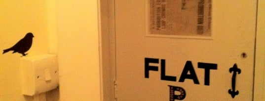 Flat P is one of BarChick's Bars with Benefits.