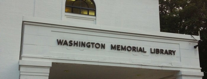 Washington Memorial Library is one of Tempat yang Disukai Samantha.