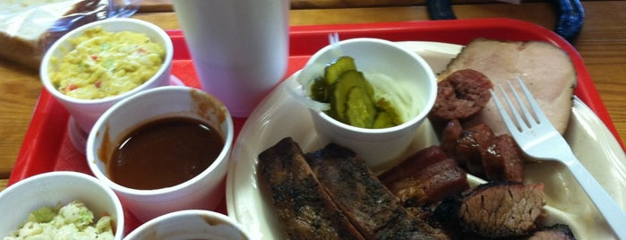 Payne's Bar-B-Q Shak is one of Texas Monthly's Top 50 BBQ Joints in Texas.