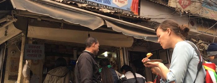 ashok chat is one of Delhi.