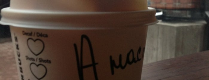 Starbucks is one of Orte, die Мария gefallen.