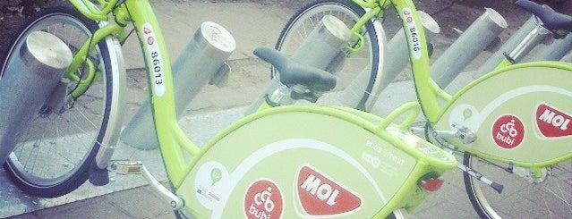 MOL Bubi 0702 is one of MOL Bubi bike rental.