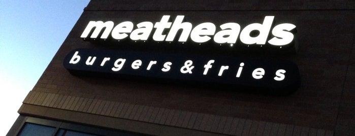 Meatheads Burgers & Fries is one of Lieux qui ont plu à Brian.