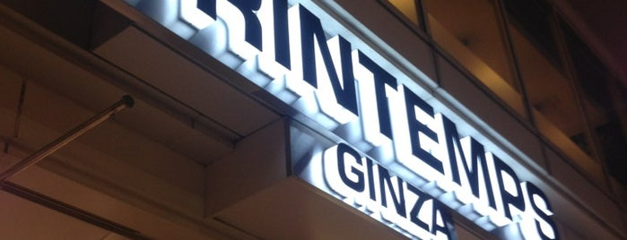 Printemps Ginza is one of Lugares guardados de Orietta.