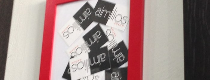 Aimilios Salon is one of Lugares favoritos de maria.