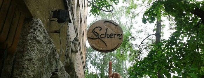 Kafe Scherz is one of Bratislava.