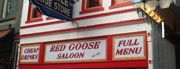 Red Goose Saloon is one of BEST BARS - SOUTHWEST USA.