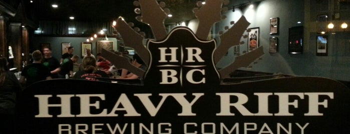 Heavy Riff Brewing Company is one of Breweries or Bust 3.