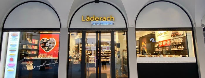 Läderach chocolatier suisse is one of Khalidさんのお気に入りスポット.