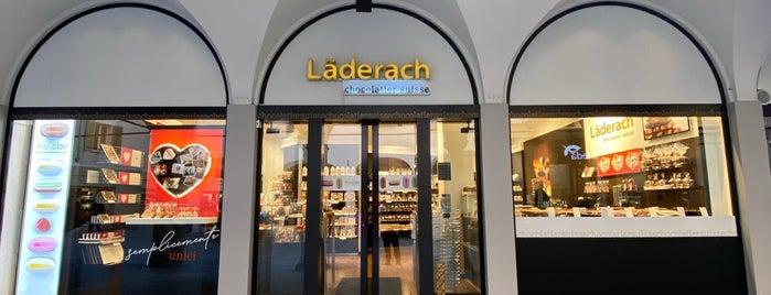 Läderach chocolatier suisse is one of asma 님이 저장한 장소.