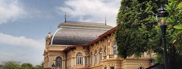 Borom Phiman Mansion is one of Rob & Bec Visit Bangkok.